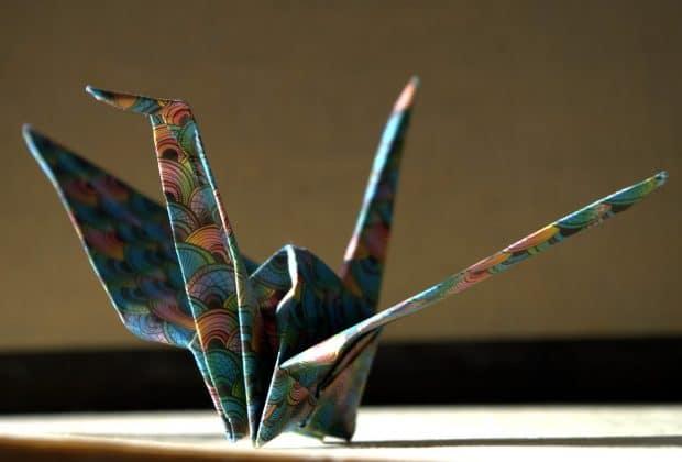 Origami, bricolage de fête des pères